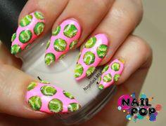 Tennis nail art anyone?