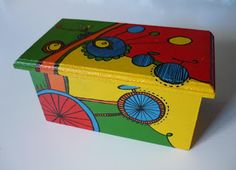 caja pintadas a mano - Buscar con Google