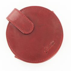 Stratton Round Red Leather Compact Case Medium #Jewellery #Accessories Red Media, Saddle Bags, Red Leather, Compact, Jewellery, Medium, Clothing, Accessories, Vintage