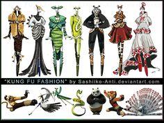 Kung Fu Fashion by Sashiiko-Anti.deviantart.com on @deviantART