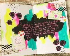Oh Snap!! Finished this #artjournal spread yesterday while Arting with some friends and had a blast! I am loving journaling on my pages lately, it gives it such a personal touch! Do you write in your art journal??