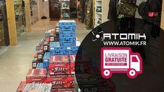 Les frais de ports sont offerts dès 100 € d'achat.  Paintball, Airsoft et Tir Loisir  www.atomik.fr