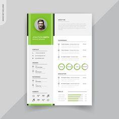 Rstech | Freepik Letterhead Template, Resume Design Template, Cv Template, Banner Template, Templates, Header Design, Resume Cv, Creative Resume, Web Banner