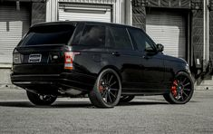 Blacked out Rover on Forgiatos