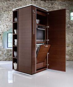 Draaibare keukentoren van Philippe Starck