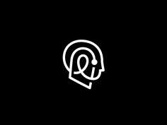 28 Awe-Inspiring Logo Design and Logo Marks by George Bokhua Typo Logo, Logo Sign, Logo Branding, Branding Design, Logo Inspiration, Robot Logo, Collateral Design, Logo Creation, Symbol Design