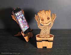 Dancing Baby Groot - Guardians Of The Galaxy Universal Smart Phone Stand iPhone Dock - Fits iPhone 6, iPhone Plus, iPhone 5 or 4, Android by PhoneTastique on Etsy https://www.etsy.com/listing/218154184/dancing-baby-groot-guardians-of-the