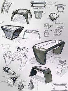 Toulet'nin tasarladığı bu ultra modern langırt masası; paslanmaz çelik, krom ve siyah saten laminat malzemesiyle göz dolduruyor. Minimalist ve stil sahibi görünümüyle masa, hem evlere hem de işyerlerine farklı bir hava katabilir.