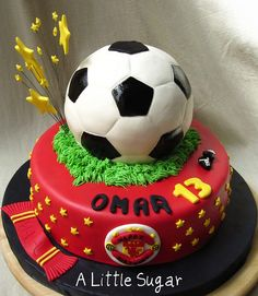 ideas for men Soccer Man-U by A Little Sugar, via Flickr