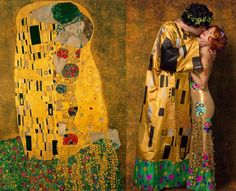 model for the kiss klimpt - Google Search