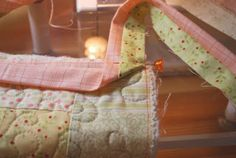 The Pattern Basket: Come Bind with me! (Two color binding on reversible quilt)