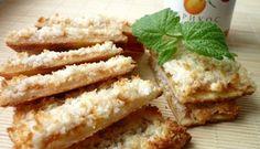 Печенье на творожном тесте с конфитюром  Darbo под кокосовой подушкой