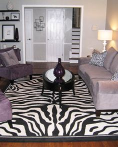 27 Best Zebra living room images | Zebra living room, Room ...