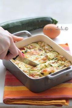 Gratin de courgettes et mozzarella