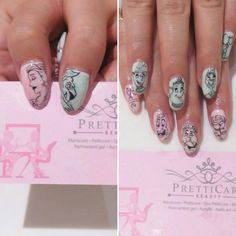 Are you fan of Beauty and The Beast? :) Get this kind of nail designs only here at PrettiCare Beauty. Visit us today! See you!  For more information or making appointments, call us at +65 6635 2825 / +65 9387 3231. Visit our website at http://www.pretticarebeauty.com for more details. Like us on Instagram at https://www.instagram.com/pretticarebeauty/ #pretticarebeauty #beautysg #pretticare #sg #singapore