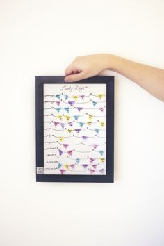 from panka with love: DIY framed bunting birthday calendar Diy And Crafts, Paper Crafts, Birthday Calendar, Diy Calendar, Diy Frame, Diy Birthday, Bunting, Diy Projects, Drawing