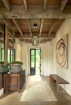Rustic and contemporary by Gwen Driscoll Designs