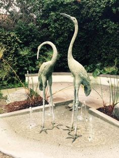 875 S Madison Ave, Pasadena CA Madison Heights Madison Heights, Stork, Yard Art, Garden Art, Heron