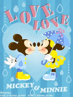 Love Love Mickey & Minnie <3