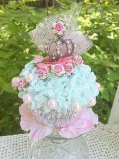 Fairy queen cupcake