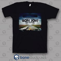 Welcome to Bonestudio, home of the funniest and popular tee's online.Lost Highway Bon Jovi Band T Shirt is your new tee will be a Lost Highway, Bon Jovi, Band Tees, Graphic Tees, Unisex, Mens Tops, T Shirt, Free Shipping, Supreme T Shirt