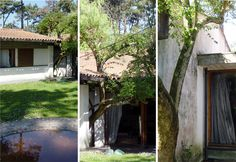 house in Ofir, Portugal. By architect Fernando Távora Portugal, Amazing Architecture, Country Life, Exterior, Summer Houses, Lima, Plants, Buildings, Interior Design