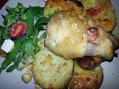 Cocina para Pobres: Muslo de pollo relleno.