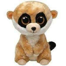 Ty Beanie Boos - Rebel the Meerkat Big Eyed Animals, Ty Animals, Ty Stuffed Animals, Cutest Animals, Ty Beanie Boos, Ty Boos, Dog Beanie, Beanie Hats, Ty Peluche