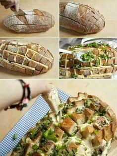 DIY chees bread