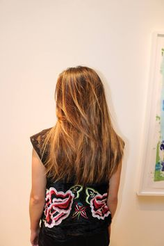 Haircut by Misako Grimaldi and balayage by Steven Smiss for Michael & Michael.