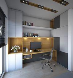 Gabinet - Biuro, styl nowoczesny - zdjęcie od Schemat