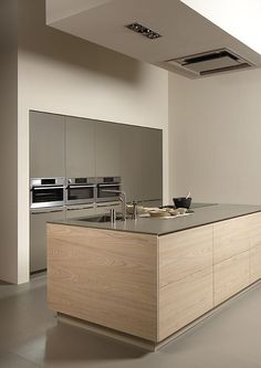 Minimal Kitchen Design Inspiration is a part of our furniture design inspiration series. Minimal Kitchen design inspirational series is a weekly showcase Luxury Kitchen Design, Luxury Kitchens, Interior Design Kitchen, Modern Interior Design, Home Kitchens, Modern Kitchens, Contemporary Kitchens, Kitchen Modern, Kitchen Color Design