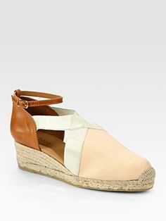 #chloe espadrille...not sure about the leather  Espadrilles #new #Espadrilles…