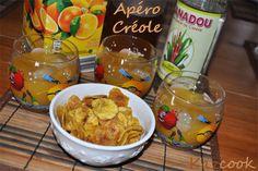 l'apéro créole par Kitchen Trotter http://kazcook.com/blog/archives/819-Apero-Creole-cocktail-au-rhum-arrange-et-chips-de-banane-plantain.html
