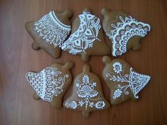 Gingerbread Cookies, Christmas Cookies, Ginger Bread, Amazing, Lace, Pretty, Food, Ginger Beard, Gingerbread Cupcakes