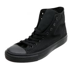 CONVERSE CHUCK TAYLOR ALL STAR HIGH now available at Foot Locker Foot Locker, Converse Chuck Taylor All Star, Chuck Taylors, All Black Sneakers, Lockers, Kicks, Stars, My Style, How To Wear