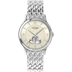 Jacques Lemans 1-1367D Men's Automatic Watch Vienna Stainless Steel Bracelet