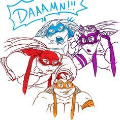 Read Role playing from the story ᴿᴬᴺᴰᴼᴹ ˢᴱˣᵞ ᵀᴹᴺᵀ'ˢ ᴾᴵᶜᵀᵁᴿᴱˢ by AshleyLittleSwagg (❥𝑇𝑒𝑚𝑎𝑟𝑖) with reads. Ninja Turtles 2014, Ninja Turtles Art, Baby Turtles, Teenage Mutant Ninja Turtles, Tmnt Swag, Tmnt Girls, Tmnt Comics, Tmnt 2012, Cartoon Crossovers