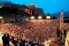 """""""Top Venues for Live Theatre"""" Ranks Herod Atticus Odean Second Best! Atticus, Second Best, Best Location, Live Music, Theatre, Dolores Park, England, Europe"""