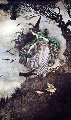Ida Rentoul Outhwaite, The Little Witch