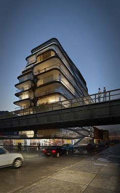 World renowned Zaha Hadid Architects is designing a boutique condominium adjacent to the High Line at 520 West 28th Street in Chelsea just south of Hudson Yards. The 11-story residential development will mark Hadid's first commission in New York City.