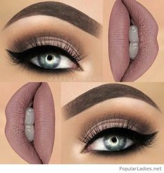 I love this makeup on nude
