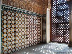 إحدي قاعات قصر الحمراء_غرناطة