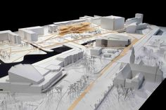 Helsinki Central Library Competition Entry / STL Architects,model 01