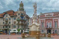 Timisoara - Piata Libertatii   foto Antonius Plăian