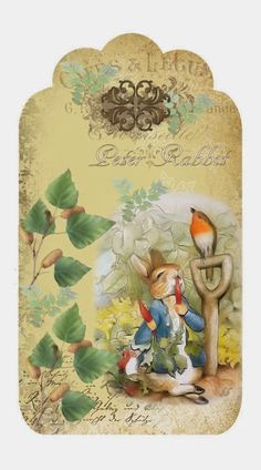 Beatrix Potter -Peter Rabbit-tag Brocante Brie