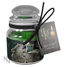 Protection Spell Candle - Lavender Price: 5.99 GBP