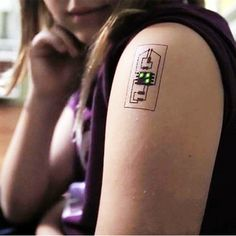 """Tech Tats"" Turn Tattoos Into Body-Monitoring Devices"
