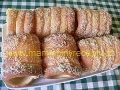 Trdelníky kváskové Hot Dog Buns, Hot Dogs, Bread, Vegetables, Food, Brot, Essen, Vegetable Recipes, Baking