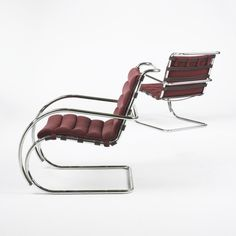 Mr quot lounge chairs ludwig mies van der rohe for knoll international